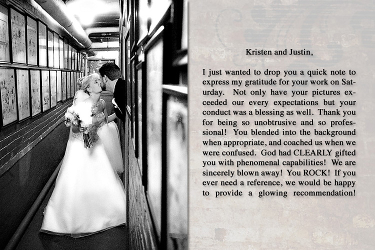 Kristen and Justin - Detroit, Michigan