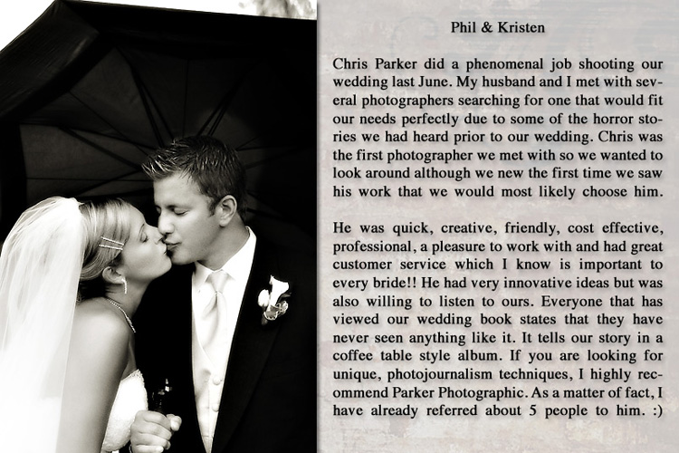 Phil & Kristen - Canton, Michigan