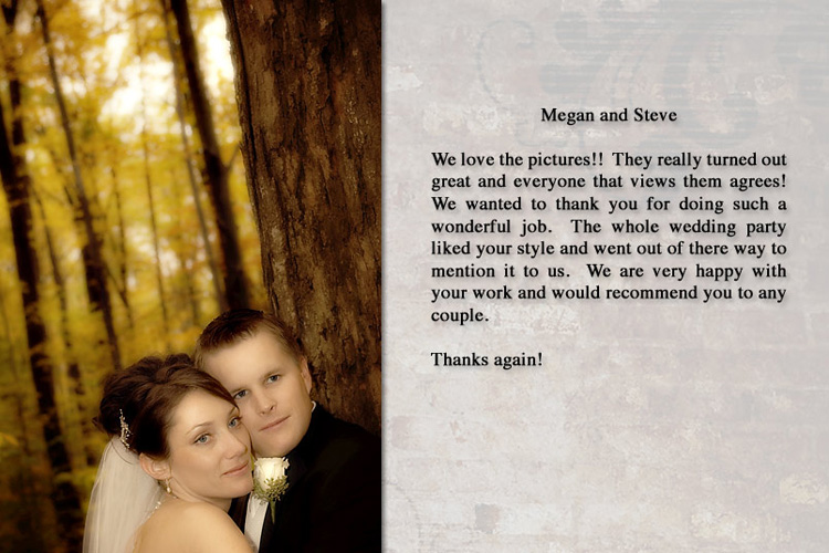 Steve & Megan - Kimball, Michigan